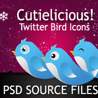 High+Quality++Layered+PSD+Twitter+Bird+Icons Free PSDs Give Away: High Resolution Twitter Bird Icons