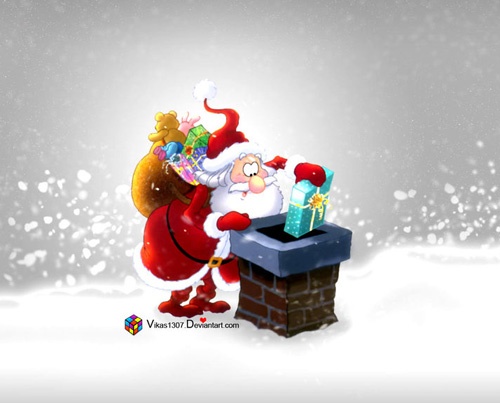 vikas 40 Gorgeous High Quality Christmas Wallpapers