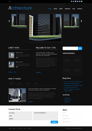 architecture Fresh Premium Wordpress Themes Designed in 2010