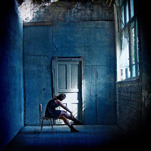 Blue Room by Griet pearl Beautifully Blue: Color Photography Inspiration