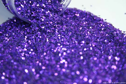 Purple Glitter by Ate Your Kangaroo The Purple Power | Stunning Photography Feature