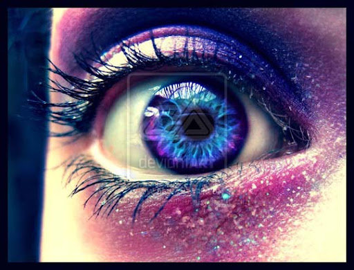 Purple eye  by MarriageMassacre The Purple Power | Stunning Photography Feature