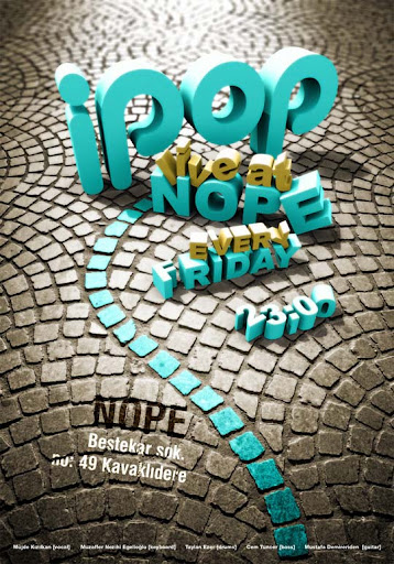 i pop poster v3 by taylanezer Typography Brilliance: To Make you say Wow #2