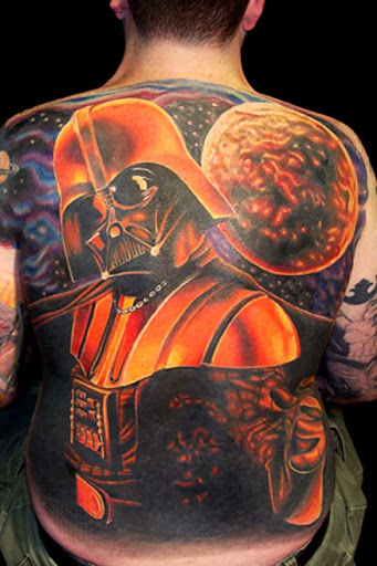 Darth Vader by brandonbond Incredible Tattoo Designs and Body Art to Inspire You
