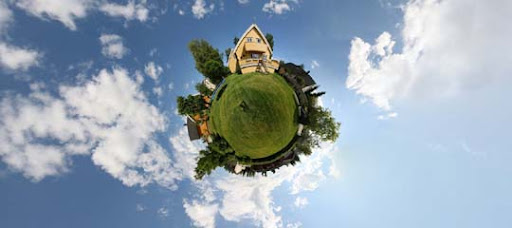 Little Planet Garden by DrySin Mesmerising Planet Panoramic Photography