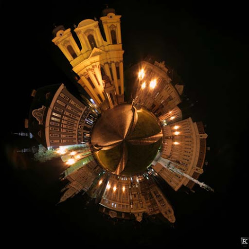 Small Planet by v e v e Mesmerising Planet Panoramic Photography