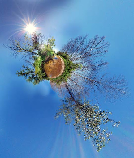 Planet of Eden by krittermaker Mesmerising Planet Panoramic Photography