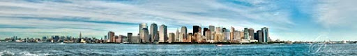 New York Skyline Panorama by deviouselite Stunning Horizontal Panoramic Shots | Photography Inspiration