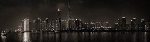 Panorama Shanghai Night by The Flowerman Stunning Horizontal Panoramic Shots | Photography Inspiration