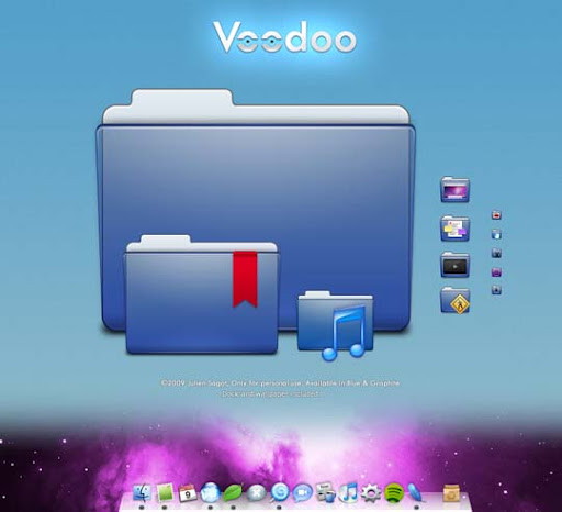 Voodoo 30+ Fresh Dock Icons For Mac Customization