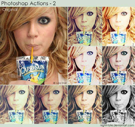 photoshop actions   2 by night fate The Ultimate Collection Of 500+ Useful Free Photoshop Actions