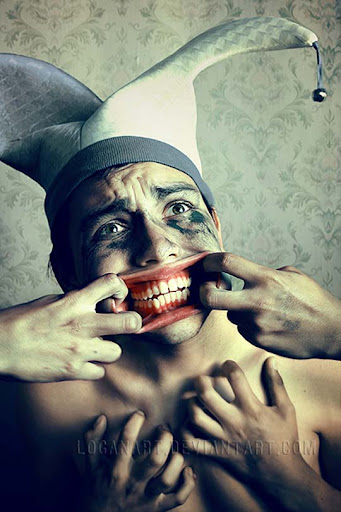 Smile to me anyhow by loganart Conceptual Photography: Pictures Speak a Thousand Words
