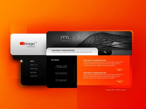 Imago+by+%7EJK89 40 Gorgeous Portfolio Web Interface Designs You Must See