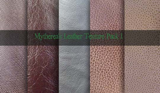 Leather Texture Pack 1 by Mytherea Design Resource: Free Leather Texture Packs