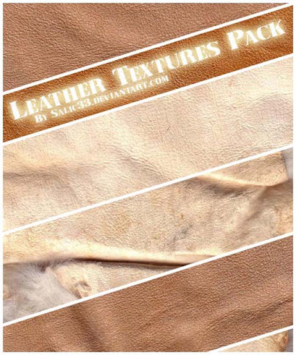 Leather Textures Pack by Salic33 Design Resource: Free Leather Texture Packs