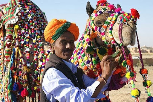Preparation.+Jaisalmer The Incredible India: 90 Spectacular Photos