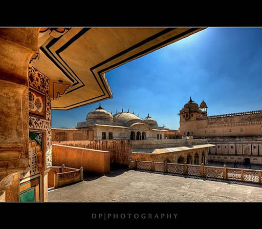 Amber+Fort,+Rajasthan,+India+HDR The Incredible India: 90 Spectacular Photos