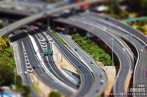 Auckland,+shot+from+the+Sky+Tower,+NZ 50+ Beautiful Examples of Tilt Shift Photography