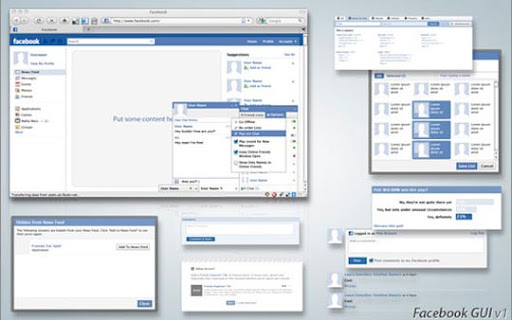 Facebook+GUI+Free+PSD+Resource Useful Free Web UI Elements PSD Packs