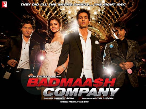 badmaash+company 30+ Creative Bollywood Movie Posters | Design Inspiration
