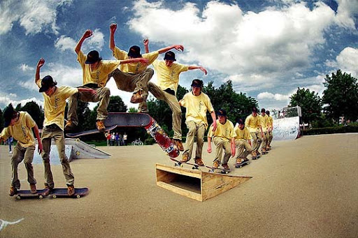 Skateboarding 40 Stunning Sequence Photography Examples