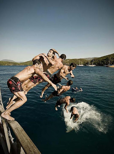 jump 40 Stunning Sequence Photography Examples