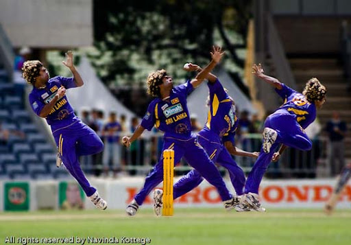 Lasith+Malinga,+Sri+Lanka+vs.+India+Cricket 40 Stunning Sequence Photography Examples