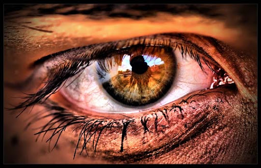 Eye   full HDR by ridethespiral1 30+ Mesmerising Macro Photos of the Human Eye | Photography Inspiration