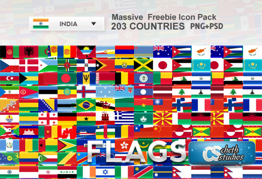 200++Country+Flags+ +Massive+Freebie+Icon+Pack 200+ Country Flags   Massive Freebie Icon Pack