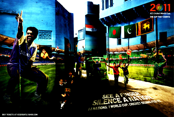 Sri+Lanka+ICC+Cricket+2011+worldcup Official ICC Cricket Worldcup 2011 Print Advertisements Posters