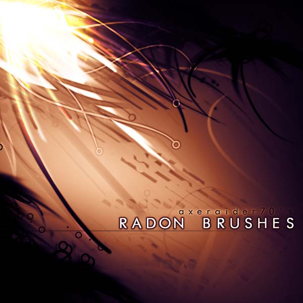 Radon Brushes by getfirefox 1500+ Free GIMP Brushes Packs for Download