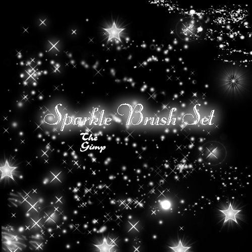 Sparkle Brush Set by faeryfroggy stock 1500+ Free GIMP Brushes Packs for Download