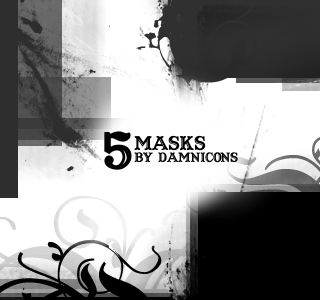 More Mask Brushes by Sarah Dipity 1500+ Free GIMP Brushes Packs for Download