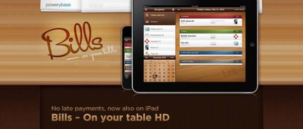 Bills+%257E+On+your+table Best Examples of iPhone Apps Websites Designs