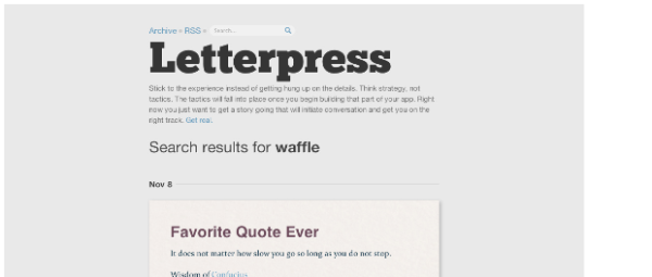 letterpress The Best Free Tumblr Themes