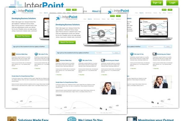 Interpoint+Free+PSD+Business+Template 80+ Free Editable PSD Website Templates