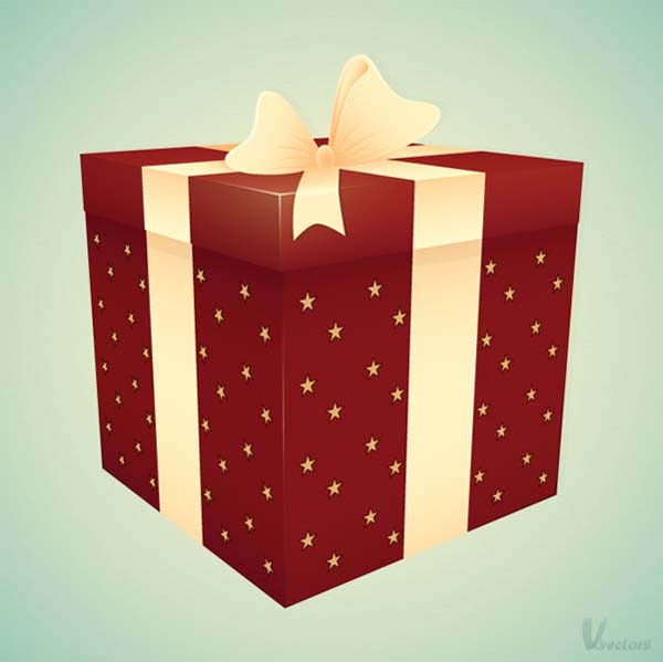 Create+a+Gift+Box+Illustration Fresh Photoshop & Illustrator Tutorials from January 2011