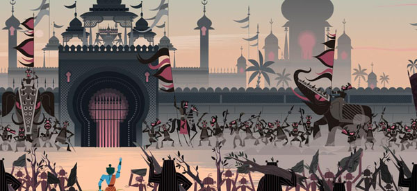 Ramayana+%252814%2529 Gorgeous Illustrations of Hindu Gods by Sanjay Patel of Pixar Studios