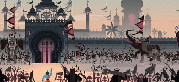 Ramayana+%252814%2529 Gorgeous Illustrations of Hindu Gods by Sanjay Patel of Pixar Studios