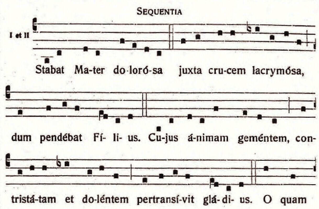 Dominican liturgy origins of the stabat mater fandeluxe Choice Image
