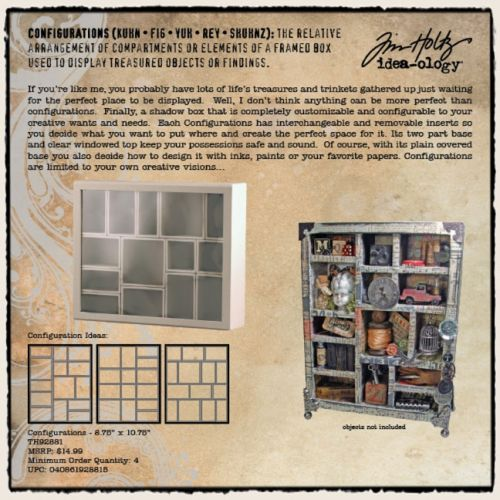 Boxes by Tim Holtz - and I