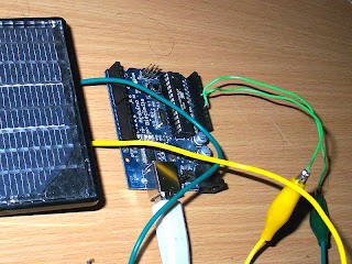 little scale connecting a solar panel to arduino Wiring Up A Solar Panel negative terminal of solar panel (marked as black or with a minus sign) to arduino ground wiring up a solar panel