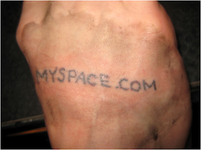How much did that woman get paid for the goldenpalace.com face tattoo