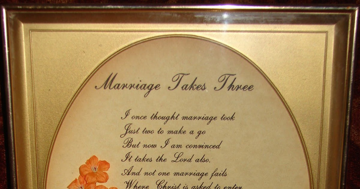 Neighbors: Marriage takes three