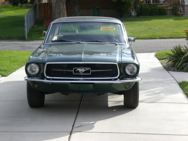 1967 Ford Mustang Coupe - 289 Small Block w/C4 Trans