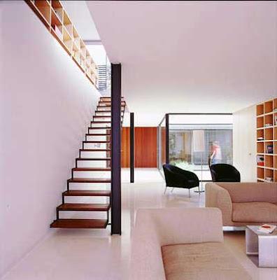 Arte y arquitectura contempor nea casa ch - Escalera exterior para segundo piso ...