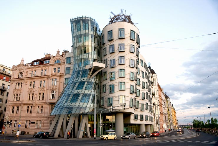 justin lee arch1390 case study frank gehry 39 s dancing house