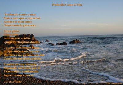 http://oqueomeucoracaodiz.blogspot.com/, Cris Henriques, O Que O Meu Coração Diz, Poemas