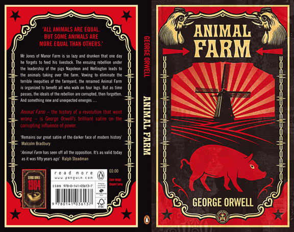 "napoleon lead the rebelion in animal farm by george orwell In animal farm, george orwell depicts a ""utopian"" society the concept of the rebellion is improve productivity on the farm however, napoleon."