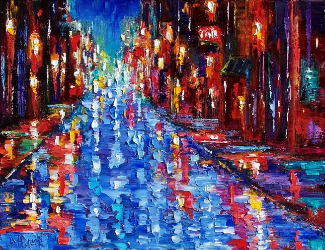 Debra Hurd Original Paintings And Jazz Art New Orleans